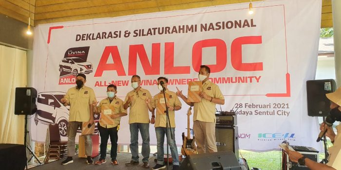 Deklarasi Komunitas All New Livina Owner Community (Anloc) Indonesia