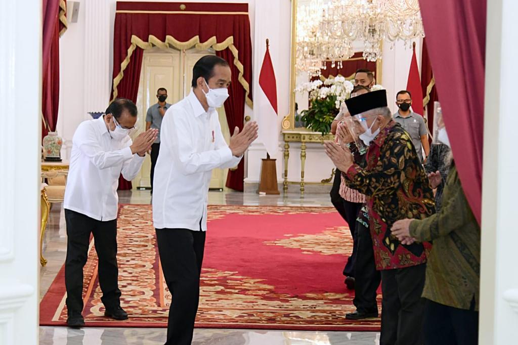 Jokowi bertemu Amien Rais